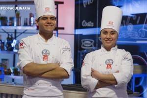 Dayán y Nicolás se enfrentan con lo mejor del talento culinario de Santiago y Valparaíso