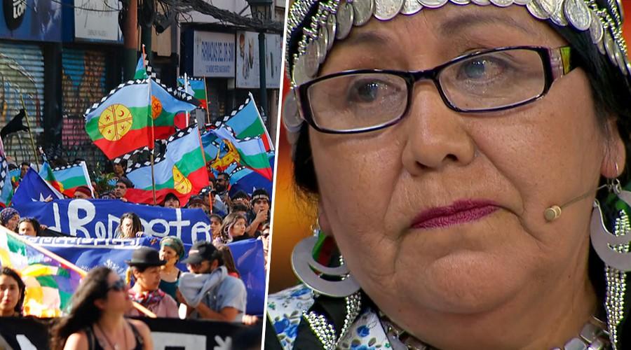 """El dolor de Olguita por la crisis social: """"Hay que escuchar y respetar al pueblo originario"""""""