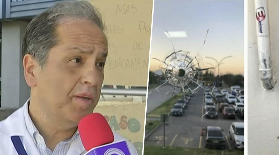 Denuncian que balas provenientes de enfrentamiento entre bandas impactan en Hospital Padre Hurtado