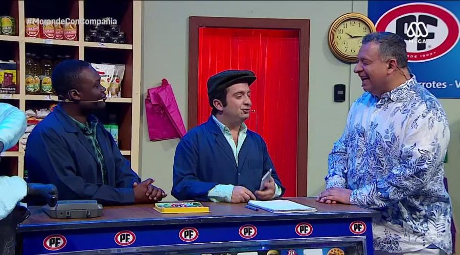 """Don Tuto y Chetumé hicieron lo posible por hacer reír a Willy Sabor en """"El Almacén"""""""