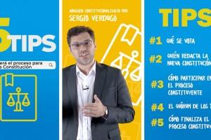 ¿Cómo será el proceso constituyente? 5 tips para una nueva Constitución en Chile