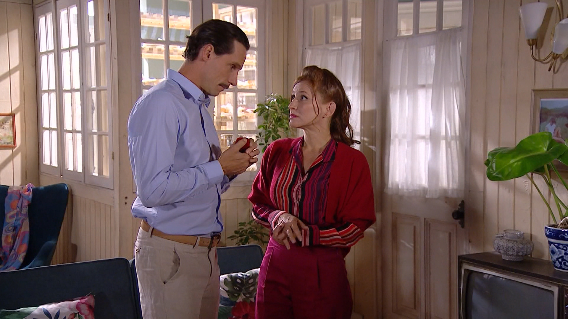 La propuesta de Felipe a Jacinta