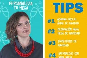 Connie Achurra enseña a envolver regalos de forma ecológica esta Navidad con didácticos tips