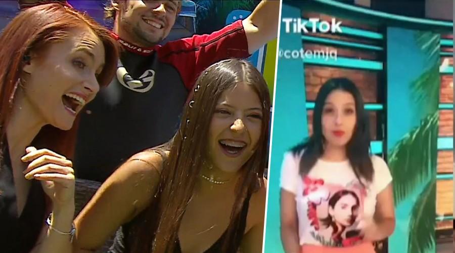 La influencer Ignacia Antonia desafió al panel de Mucho Gusto en Tik Tok
