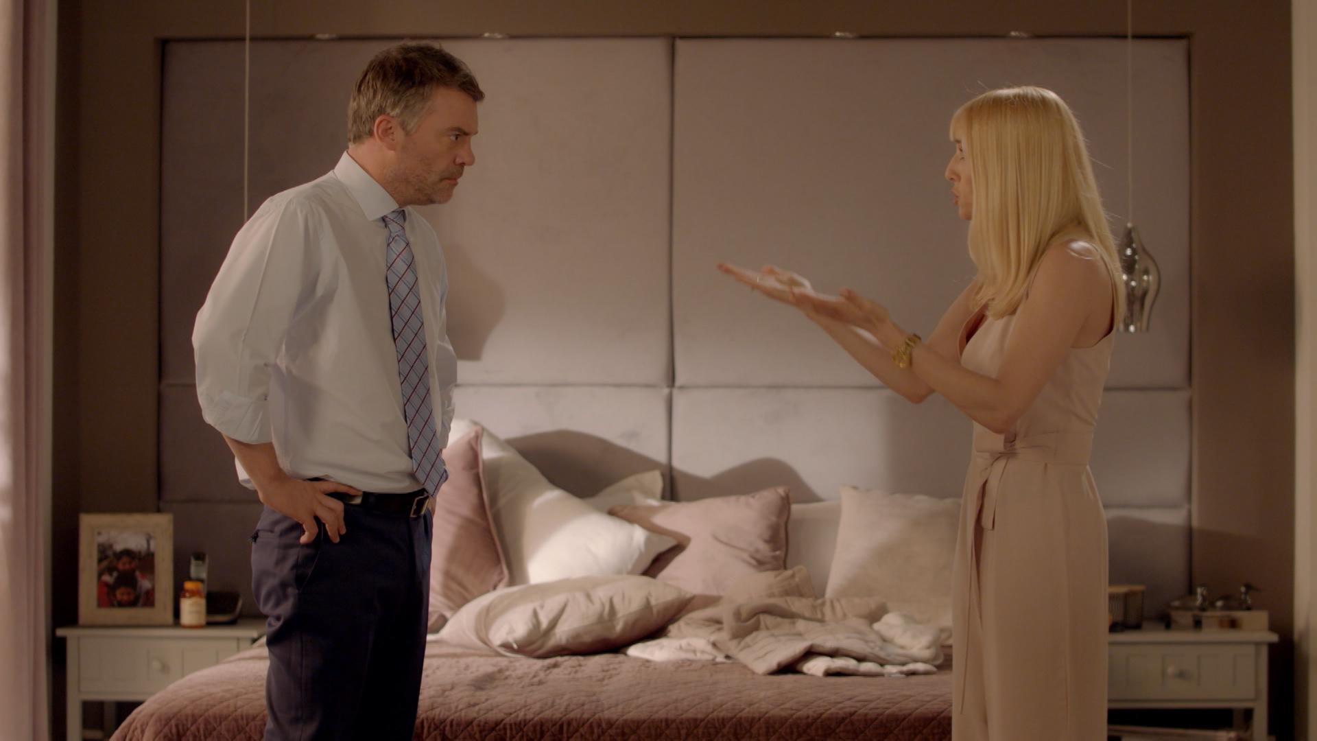 Laura y Pedro hablan seriamente de su divorcio