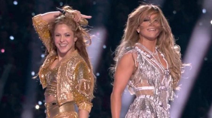 Poder femenino: Jennifer López y Shakira se lucieron en el Super Bowl