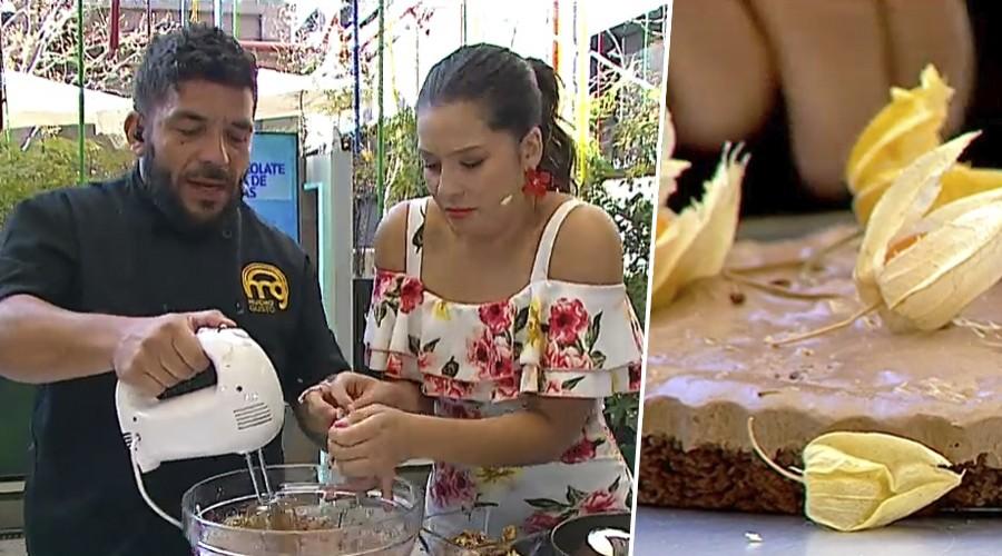 Ideal para el verano: Serrucho nos enseña a hacer tartaleta de chocolate con avellanas