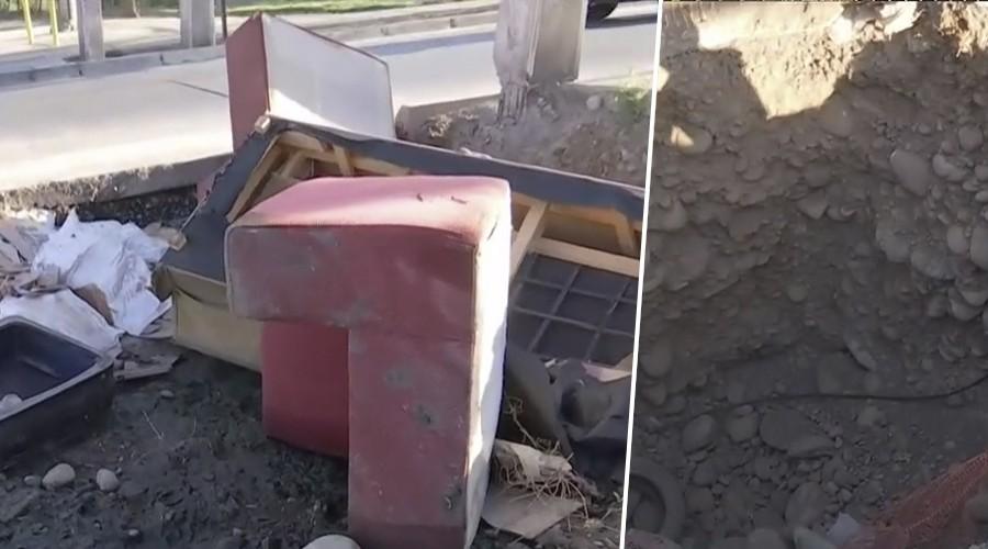 San Bernardo: Vecinos viven con focos de infecciones producto de socavones en la calle