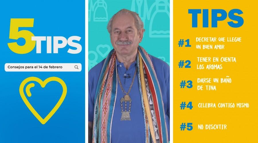#5Tips: Consejos para el 14 de febrero