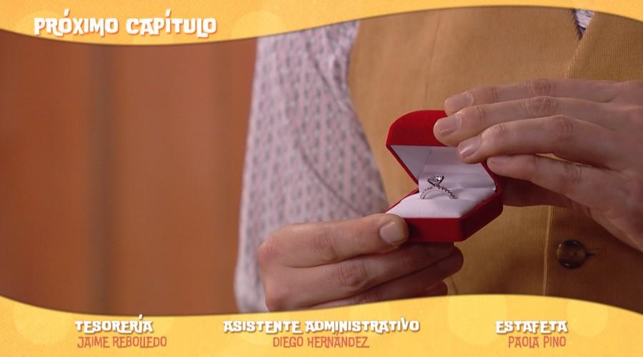 Avance: Benjamín le regalará un anillo a Laura