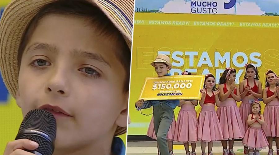 Revive la gran final: Mateo López se coronó ganador de #LasEstrellasMG en Mucho Gusto
