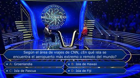 Angie Hernández quedó fuera tras complicarse en la séptima pregunta