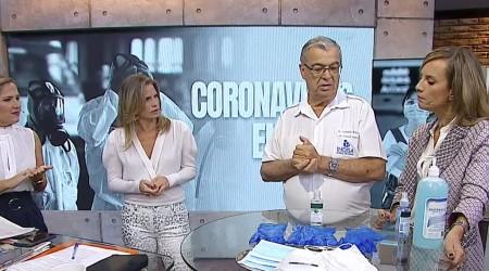 """Consejos por coronavirus :""""Las mascarillas se cambian cada una o media hora"""""""