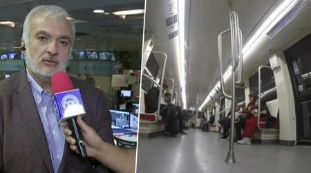 """""""Las manillas son el punto más crítico"""": Las medidas del Metro por coronavirus"""