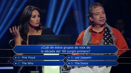 Pamela Díaz no quería confiar en el público de ¿Quién quiere ser Millonario?