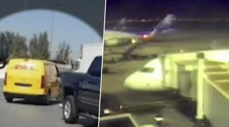 Robo en aeropuerto: Sin pistas sobre delincuentes y video captó el atraco