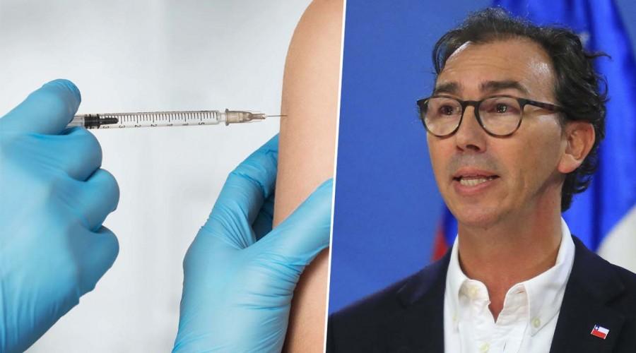 Ministro asegura que vacunación en colegios continuará pese a suspensión de clases