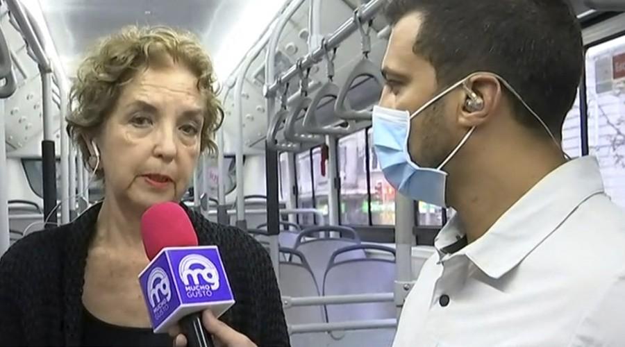 Ministra explica medidas de sanitización en el transporte público para evitar expansión de coronavirus