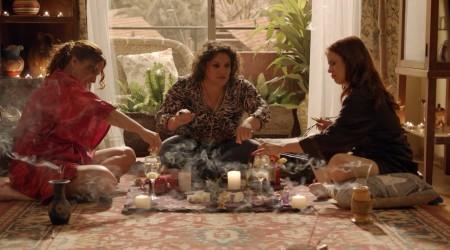 Mané y Florencia dieron todo de sí en el ritual de la fertilidad