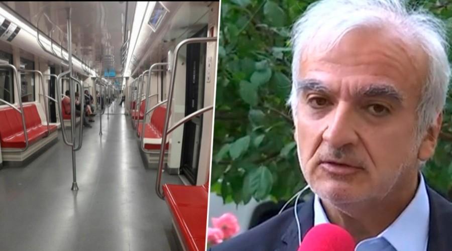 """Gerente de Metro de Santiago: """"Estamos haciendo un aseo muy fiscalizado e intenso"""""""