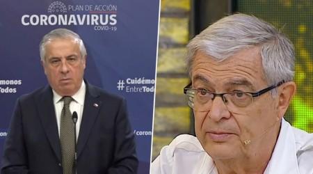 """Lo peor está por venir"": Doctor Ristori explica afirmación de ministro Mañalich"