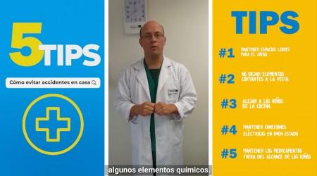 #5Tips:  ¿Cómo evitar que los niños sufran accidentes en casa durante la cuarentena?