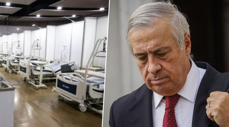 """""""Nos parece un precio justo"""": Ministro Mañalich por arriendo de instalaciones para casos de coronavirus"""