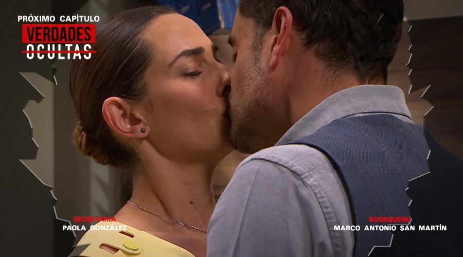 Avance: Diego encontrará a Samanta y Ricardo besándose en la oficina