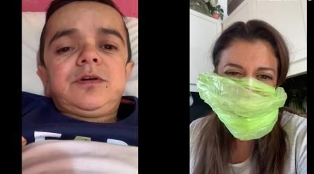 Miguelito ni se ha parado de la cama: Así viven la cuarentena Paola y su hijo