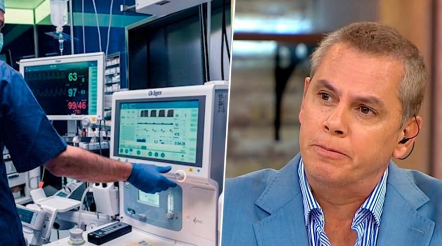 Aumentan casos de Covid-19  y disminuyen los ventiladores mecánicos: Más del 70% está en uso