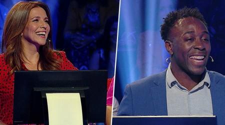 Karla Constant y Jefferson Lucumi jugaron por una importante causa en ¿Quién quiere ser millonario?