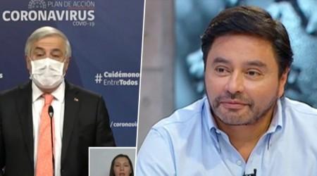 """""""El ministro tropieza con la misma piedra"""": Alcalde Carter por interpelación de Mañalich en informe de Covid19"""