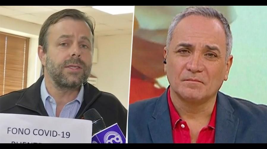 """""""Funcionarios y equipos pueden ir en ayuda de esas familias"""": Alcalde Codina pide información de contagiados"""