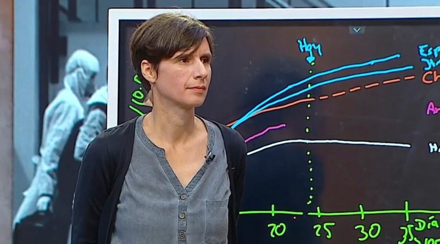 """""""Tenemos que tomar más medidas ahora"""": Viróloga analiza curva de Covid-19 y la compara con España e Italia"""