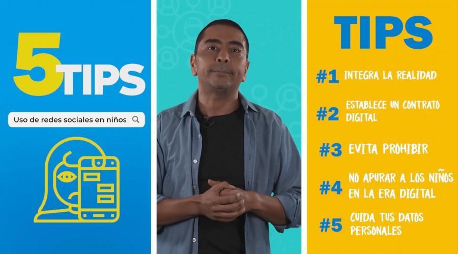 #5Tips para que los niños utilicen las redes sociales de manera adecuada