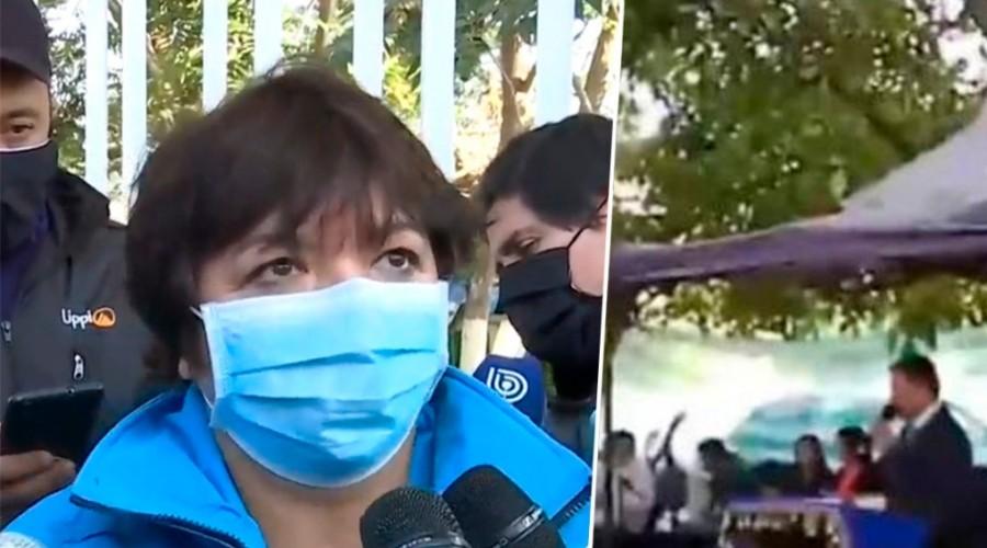 """Alcaldesa de La Pintana tras prohibición de culto evangélico: """"Nos vamos a querellar contra el pastor Cid"""""""