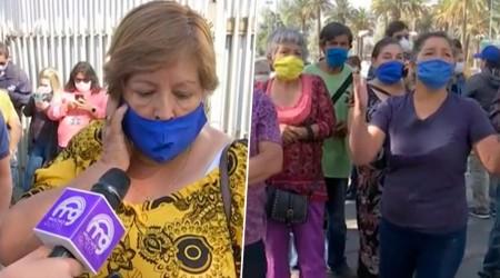Trabajadores protestan por cierre de ferias libres en Huechuraba