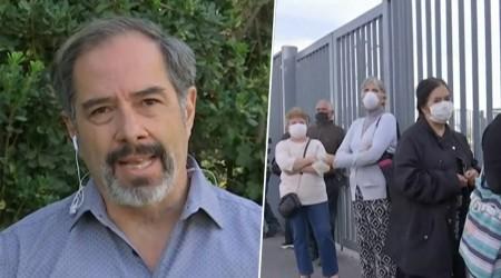 """Infectólogo de la Universidad de Chile: """"Es posible que el peak se desplace"""""""