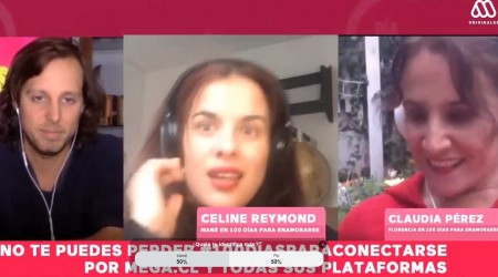 #100DíasParaConectarse: Celine Reymond y Claudia Pérez contaron qué hacen durante la cuarentena