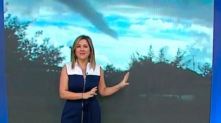 """Michelle explica inusual """"nube embudo"""" captada en la región de Ñuble"""