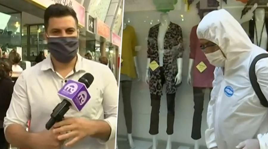 Mall de Patronato abrió sus puertas: Expertos analizan los riesgos del comercio en medio de la pandemia