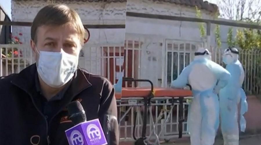 Un fallecido y 17 contagiados: Alcalde Codina confirma brote de Covid-19 en hogar de ancianos clandestino