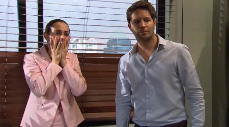 Samanta sufrió una crisis frente a Diego