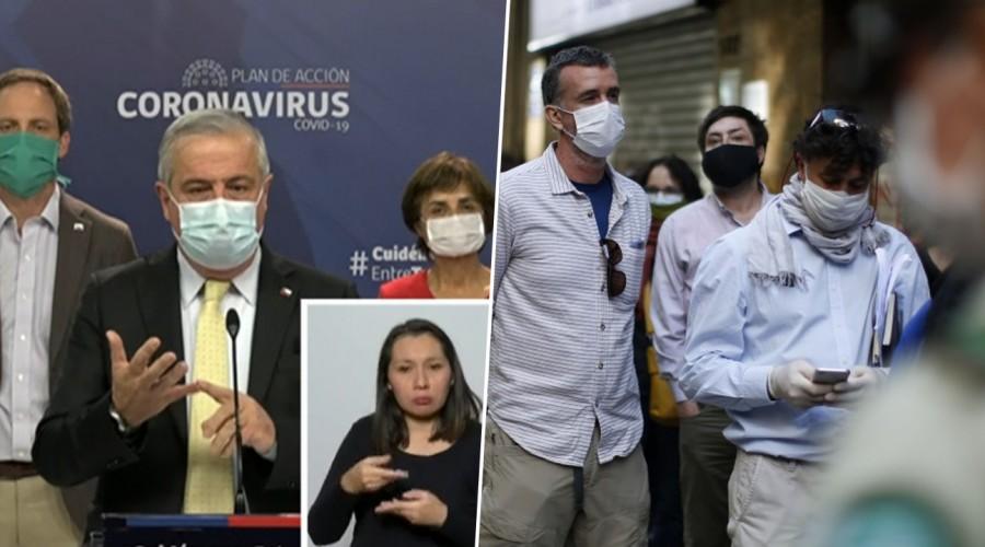 Nuevo informe de coronavirus: Minsal reporta que el 85% de los casos nuevos son en Santiago