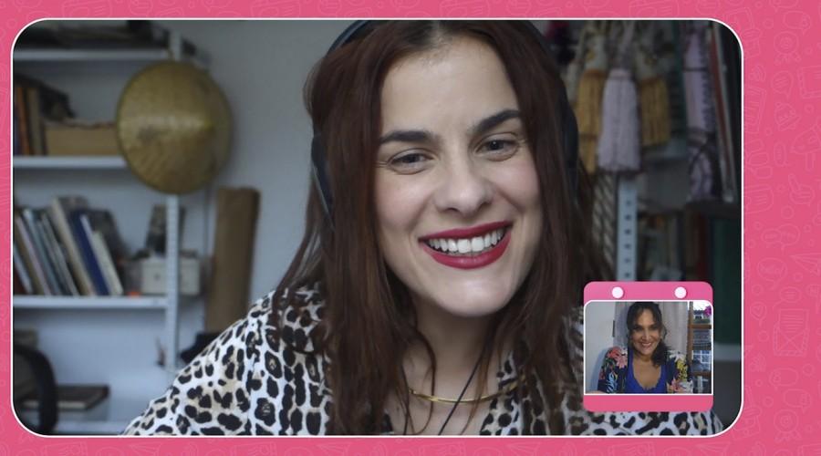 Mané y Florencia practicaron inglés con icónicas frases de películas en #100DíasParaConectarse