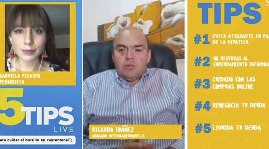 #5Tips Live: Experto advierte cuánto es lo máximo que podemos endeudarnos de acuerdo a nuestra renta