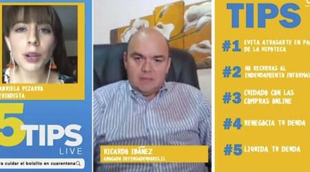 #5Tips Live: Abogado explica por qué conviene comprar en menos cuotas para no generar gastos de cobranza