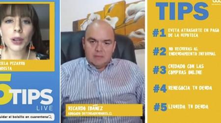 #5Tips Live: Experto en endeudamiento y su recomendación de renegociar las deudas para disminuir intereses