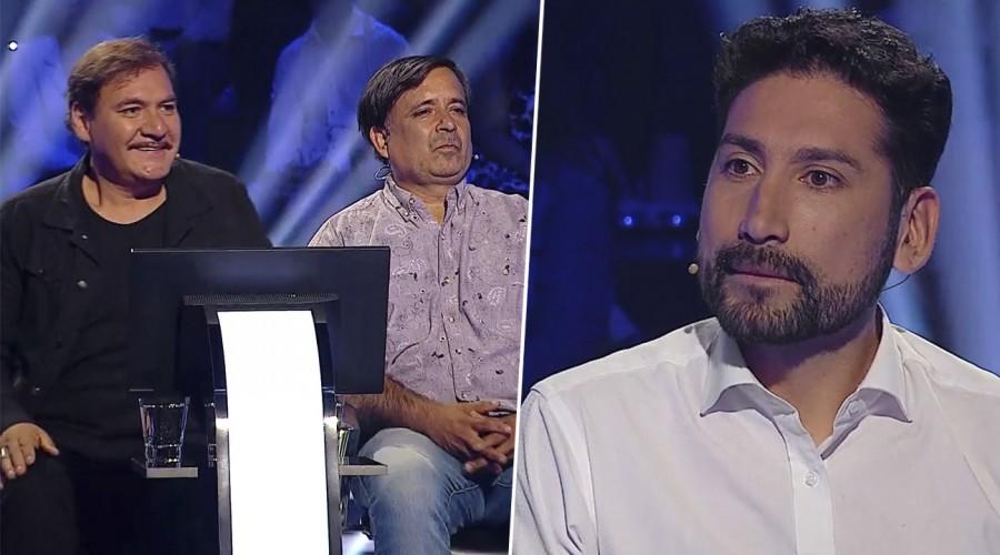 Rodrigo Muñoz y Matías Zurita lo dieron todo para cumplir un sueño en ¿Quién quiere ser millonario?