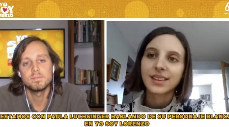 Paula Luchsinger estudió Derecho antes de dedicarse a la actuación